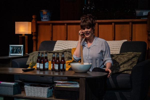 Persephone Theatre production of I Lost My Husband! in Saskatoon, SK, October 15, 2019.Photo Electric Umbrella/Liam Richards