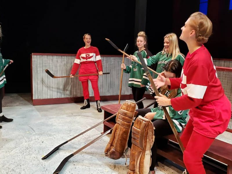 Hockey team meets the Cast of GLORY