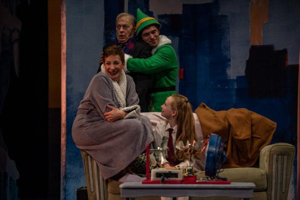 Persephone Theatre's production of Elf the Musical in Saskatoon, SK, December 3, 2019.Photo Electric Umbrella/Liam Richards