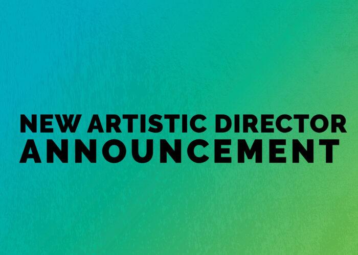 New Artistic Director